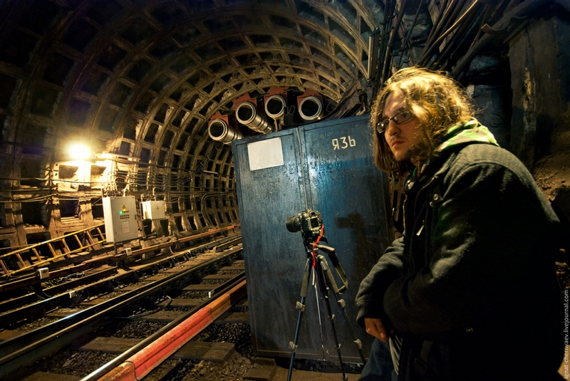 Metro Tunnels Of Saint Petersburg