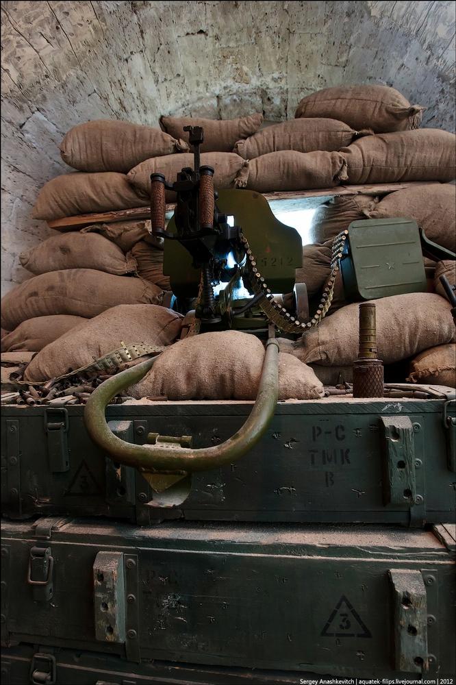 Machine Gun Nest From 1942