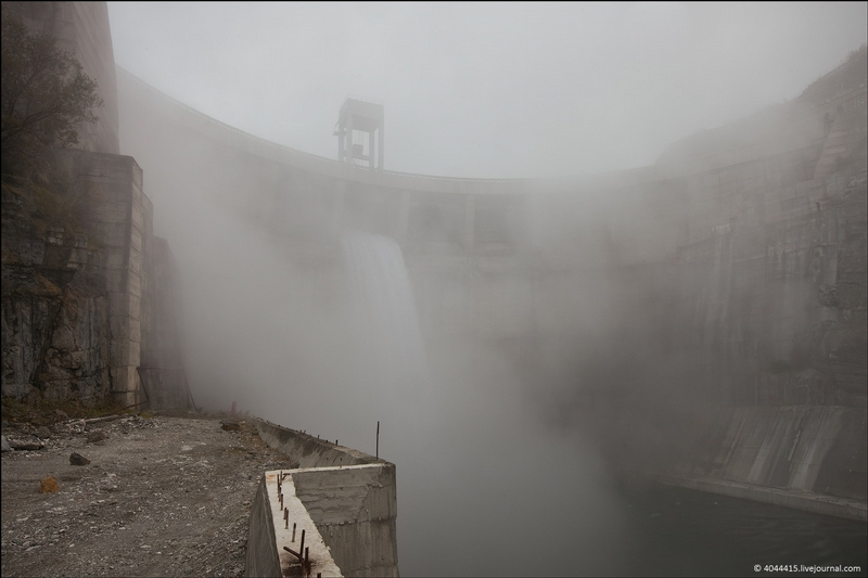 Water Release At Miatlinskaya HPP