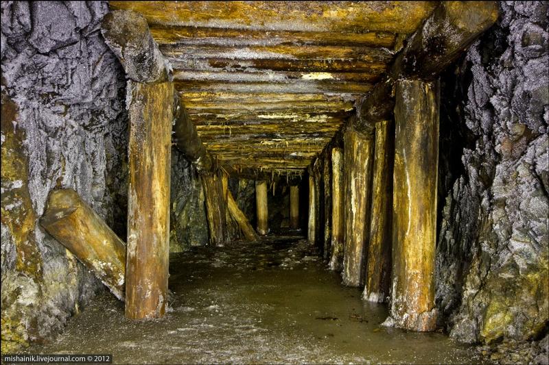 Underground Mine of the Eighteenth Century