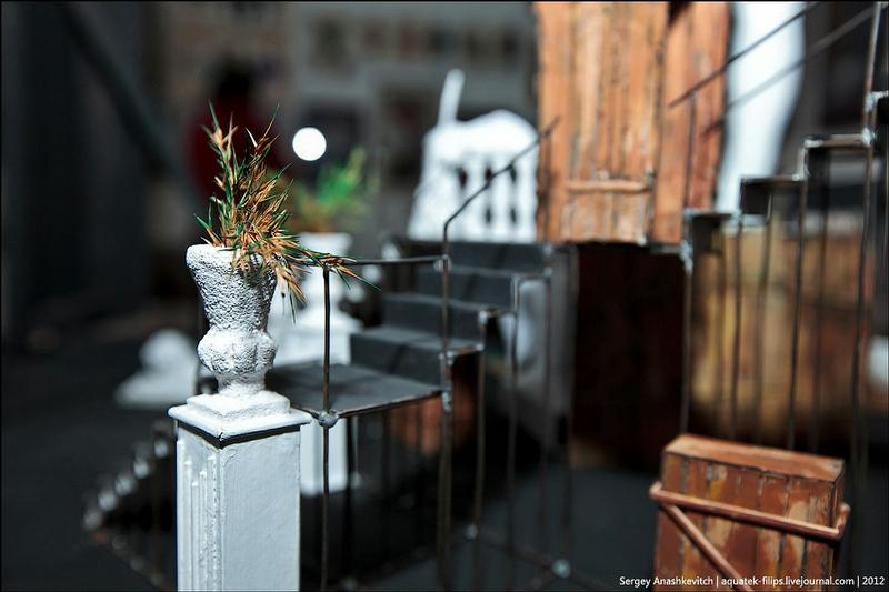 Theatrical Scenery In Miniature