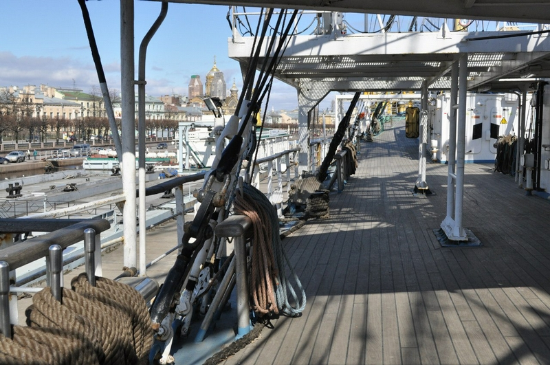Aboard the Most High-Speed Sailing Ship