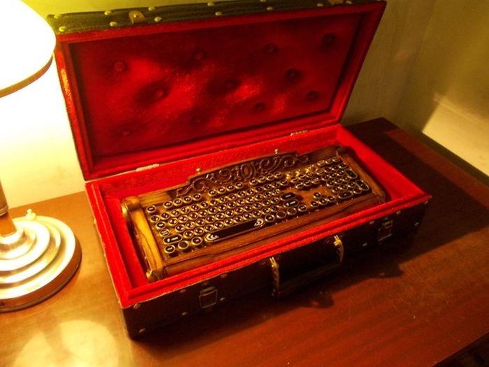 Cool Steampunk Keyboard