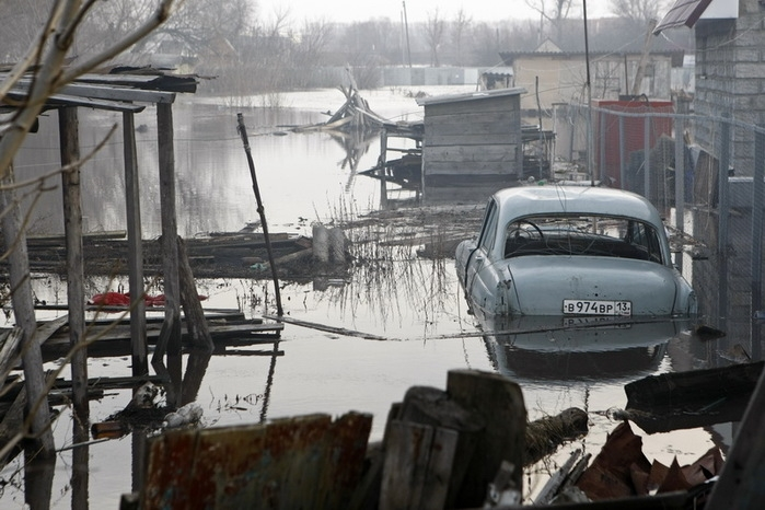 High Water In Mordovia