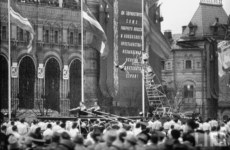 May Holidays In Moscow 1958
