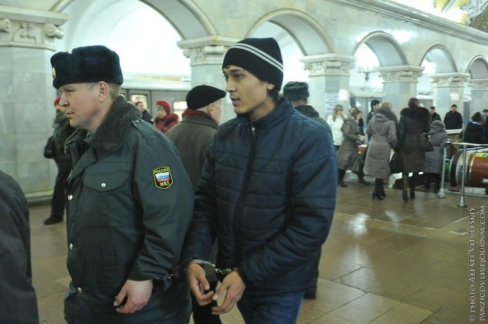 Illegal Activities At The Moscow Metro