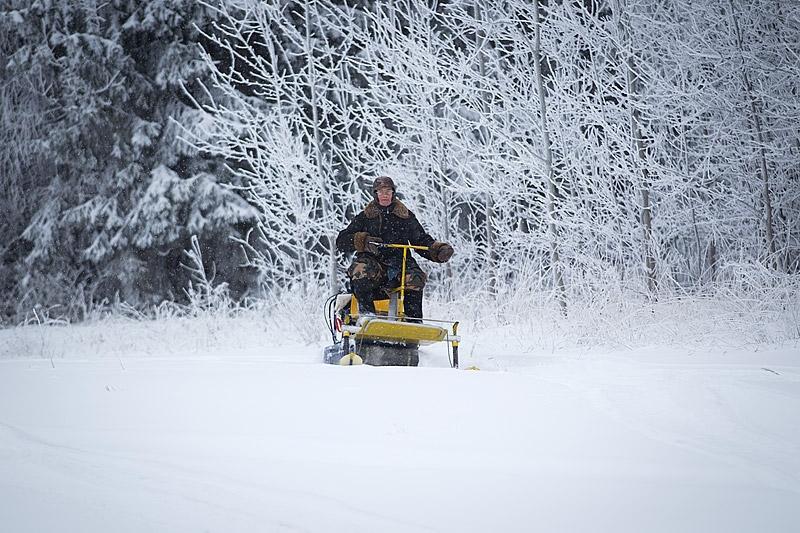 Village Creativity: DIY Snowmobile