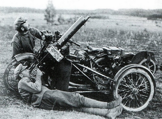 Motorcycles In the Russian Empire