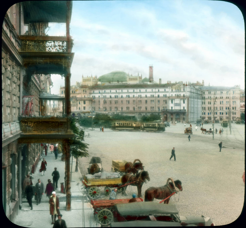 Moscow 1931 In Color