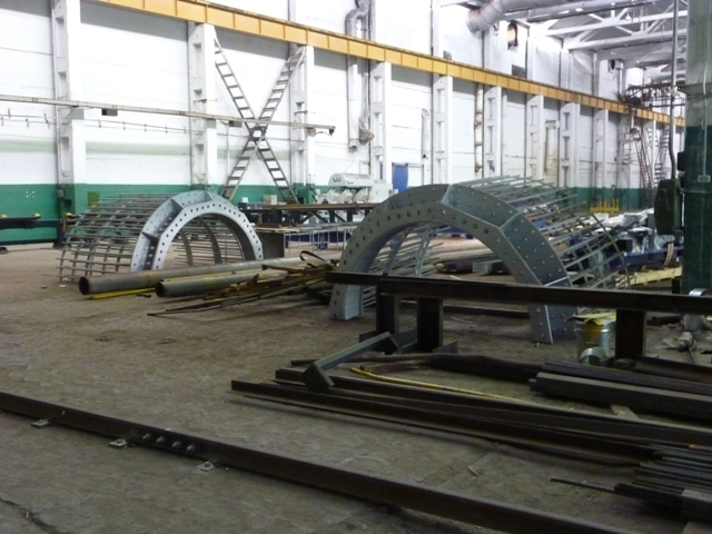 Metal Constructions For Olympic Objects In Sochi