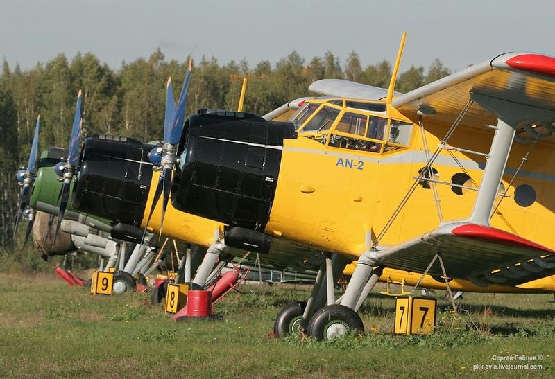 Well Hidden Airfield Near Moscow