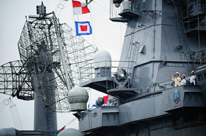 Salute to Naval Forces!