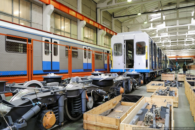 New Trains For Moscow And Eastern Europe