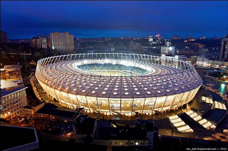 EURO 2012 Stadium In All Its Moods