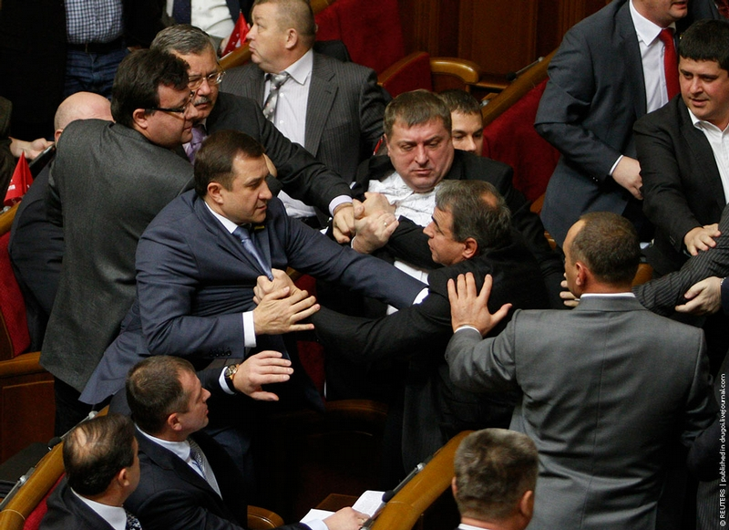 When The Parliament Is Not a Place For Discussions