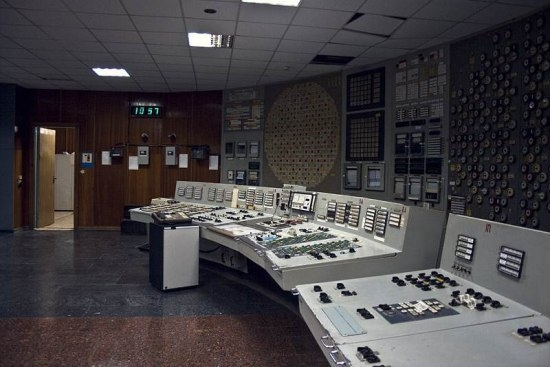 Inside The Exploded Nuclear Power Station