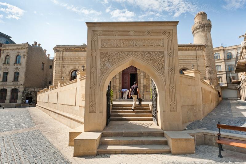 The Old City Of Baku