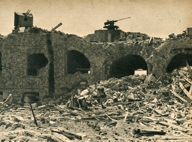 The City Under The German Attack