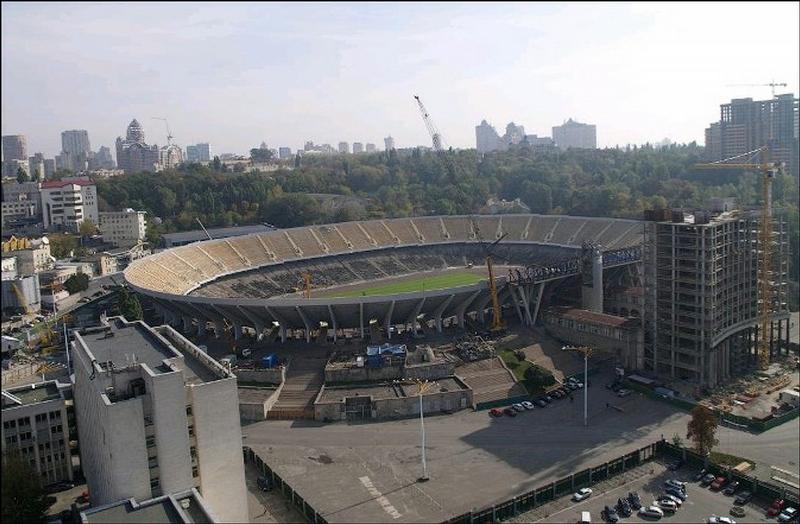 The History Of Olimpiyskiy National Sports Complex