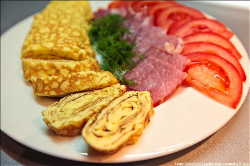 Unusual Omelette For Breakfast