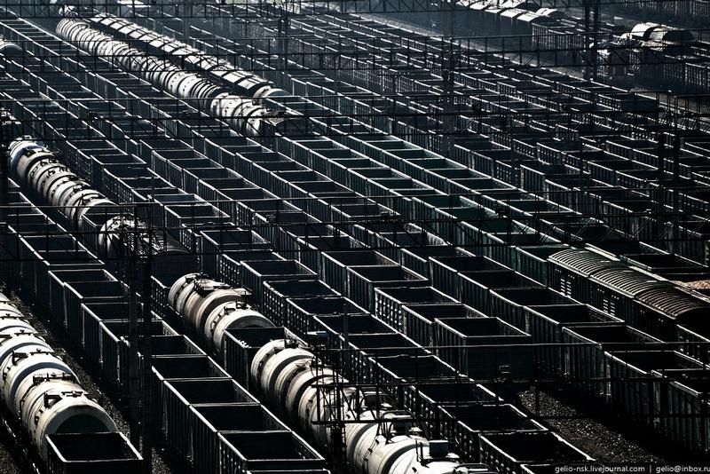 Work of the Siberian Railway