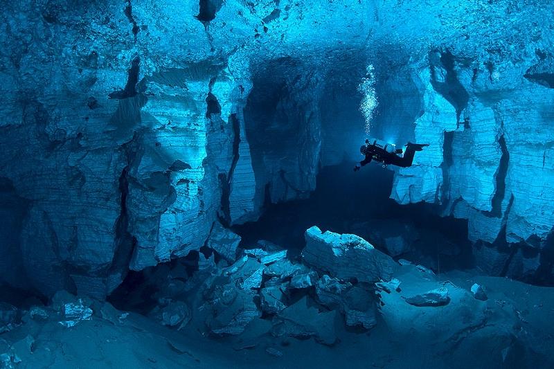 The Longest Underwater Cave In Russia