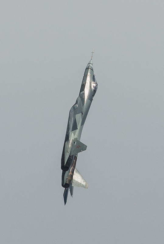 New Jet Fighter of the Russian Air Forces