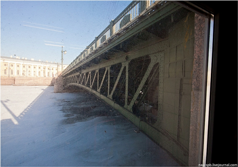Palace Bridge In Saint Petersburg