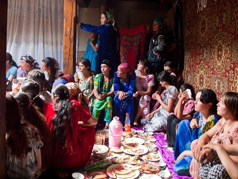 Real Feast In a Kishlak