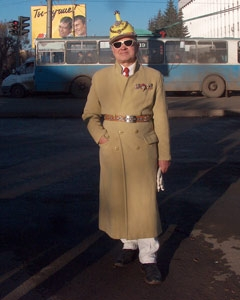 The Most Fashionable Russian Pensioner