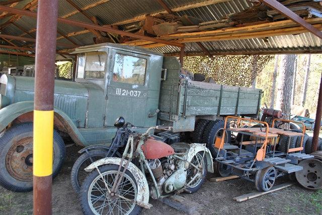 Old Equipment Museum In the Yaroslav Region