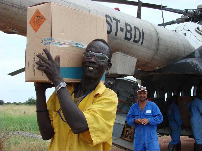 Russian Pilot In Africa