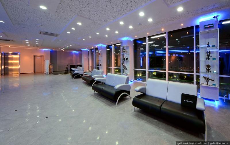New Planetarium Opens In Novosibirsk