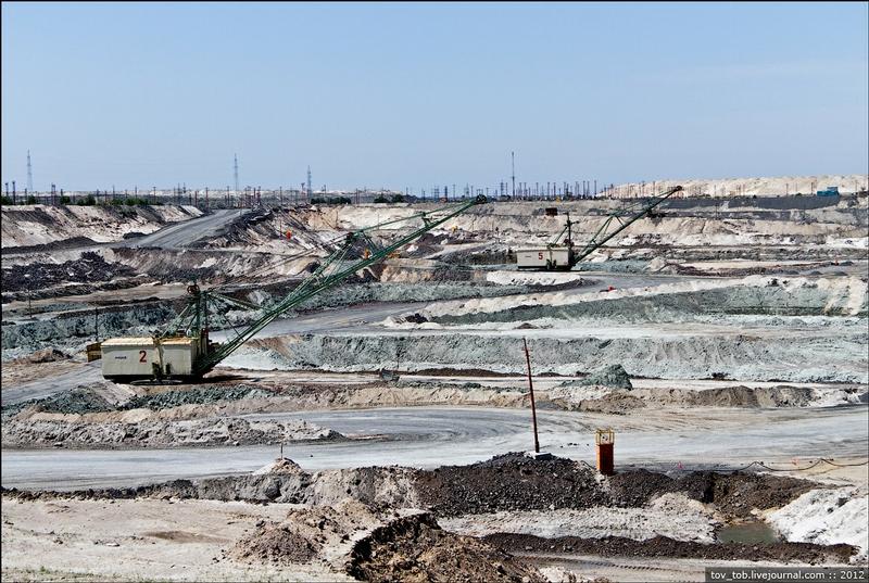 Huge Quarries Of Ukraine