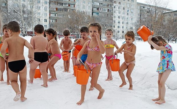 Getting Childrens Health Stronger, Siberian Style