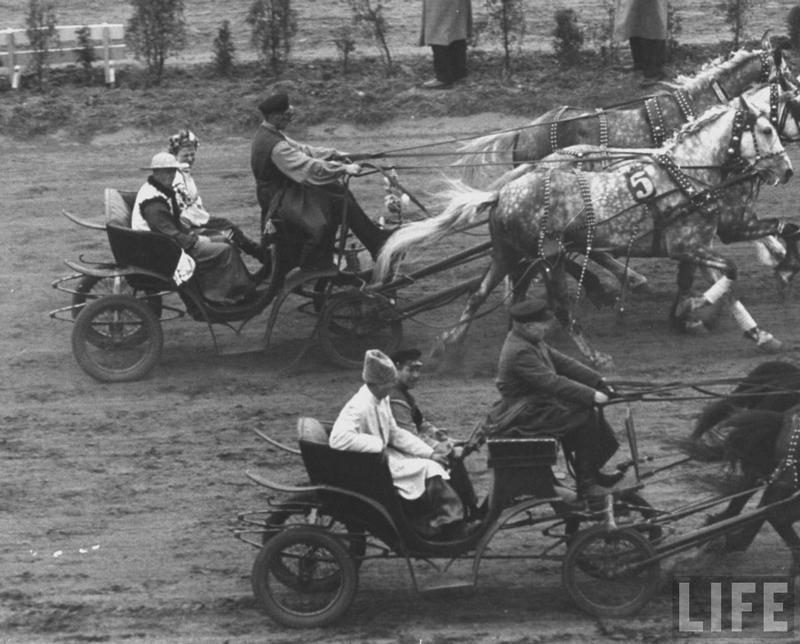 A Day At the Races 70 Years Ago!