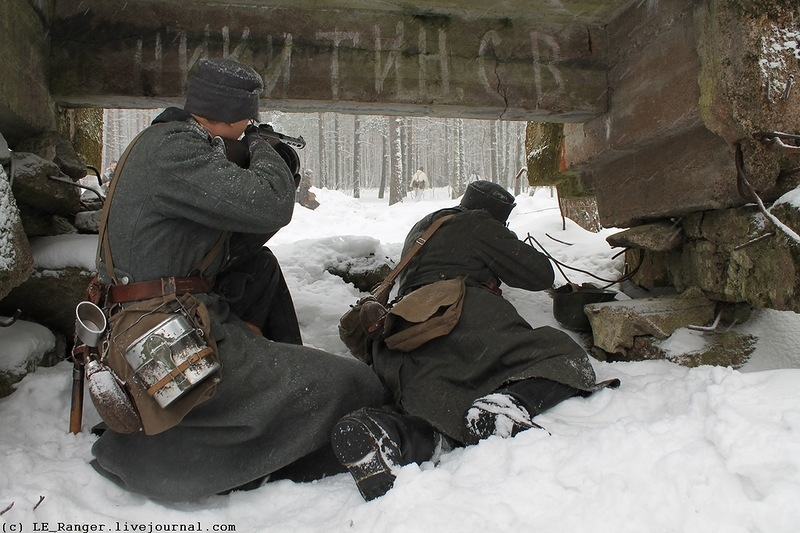 Reconstruction To Celebrate The End Of The Winter War