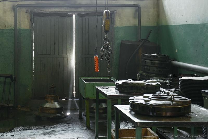 Tank Repair Shop of Today