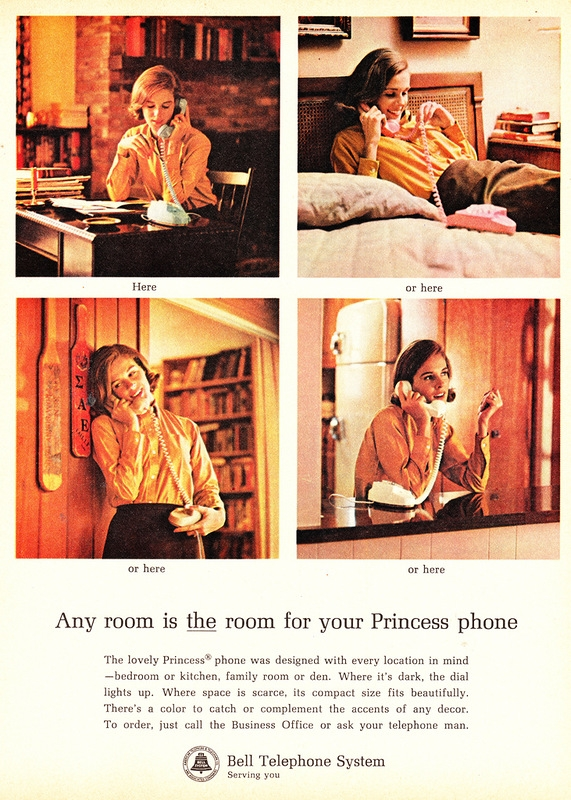 Retro Phone Talking Girls