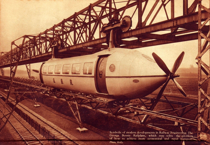 Cool Retro Monorail of Scottland