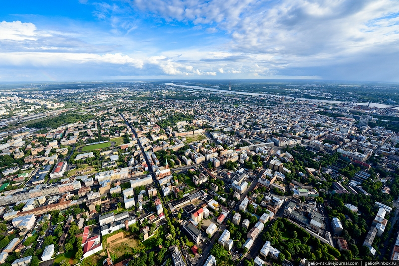 Latvian Capital From Above
