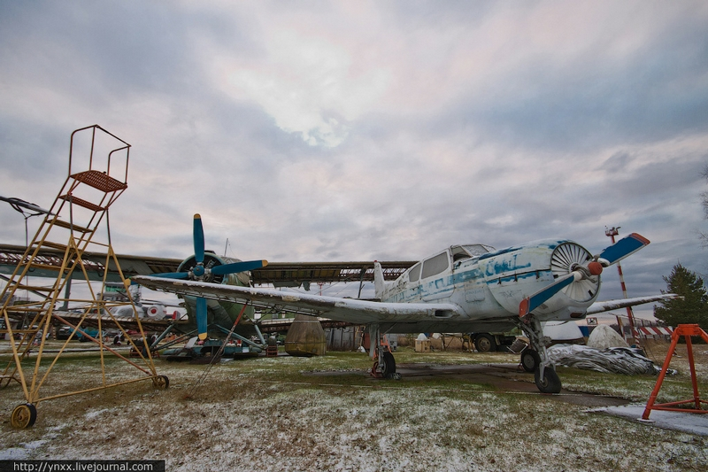 Soviet Aircrafts Riga Got After the USSR Collapse