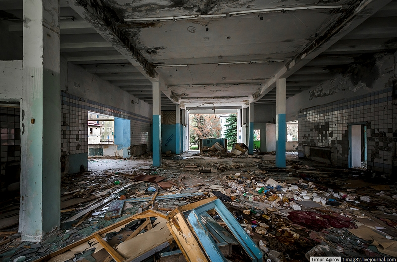 Ruins of a Once Prosperous Plant