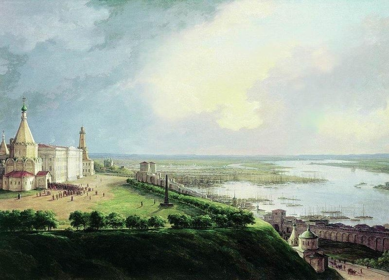 19thcentury001 39 Russian Cities In the XIX Century