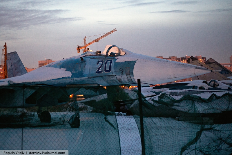 Where Russian Aviation Is Buried