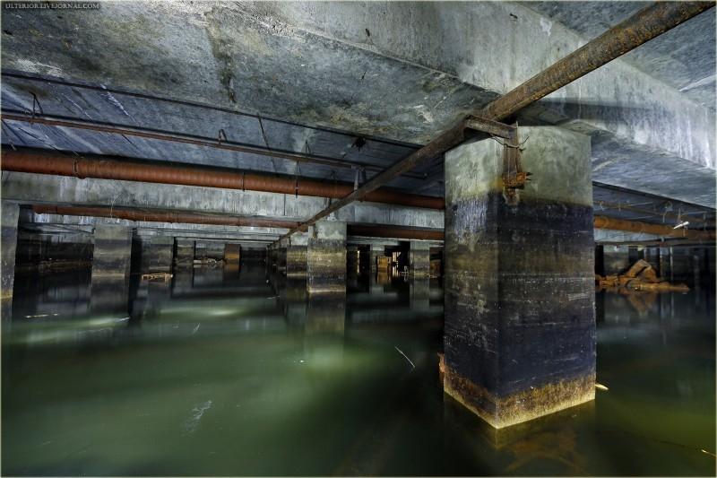 One Rusty Underground Shelter