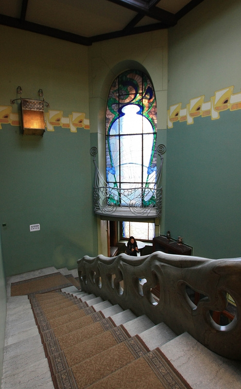 Wonder Staircase of Ryabushinsky Mansion