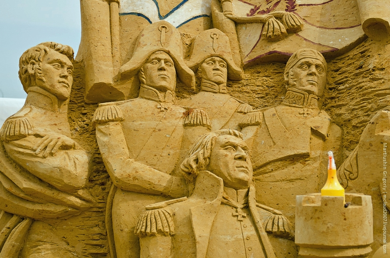 Russian History Made of Sand
