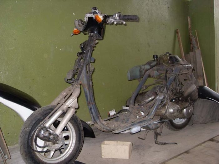 Task To Restore the Scooter