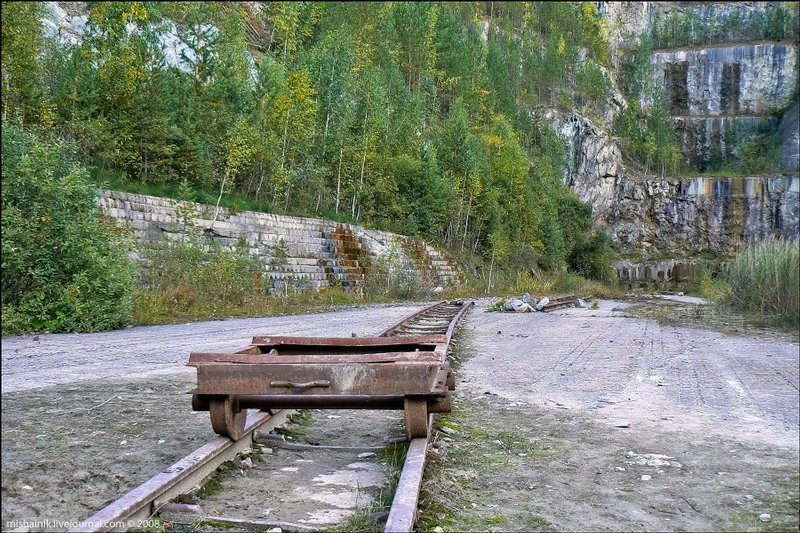 What Remained of the Shabrovsky Talc Pit